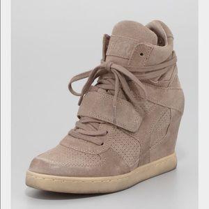 Ash Footwear Tan Sneakers Kendall Jenner